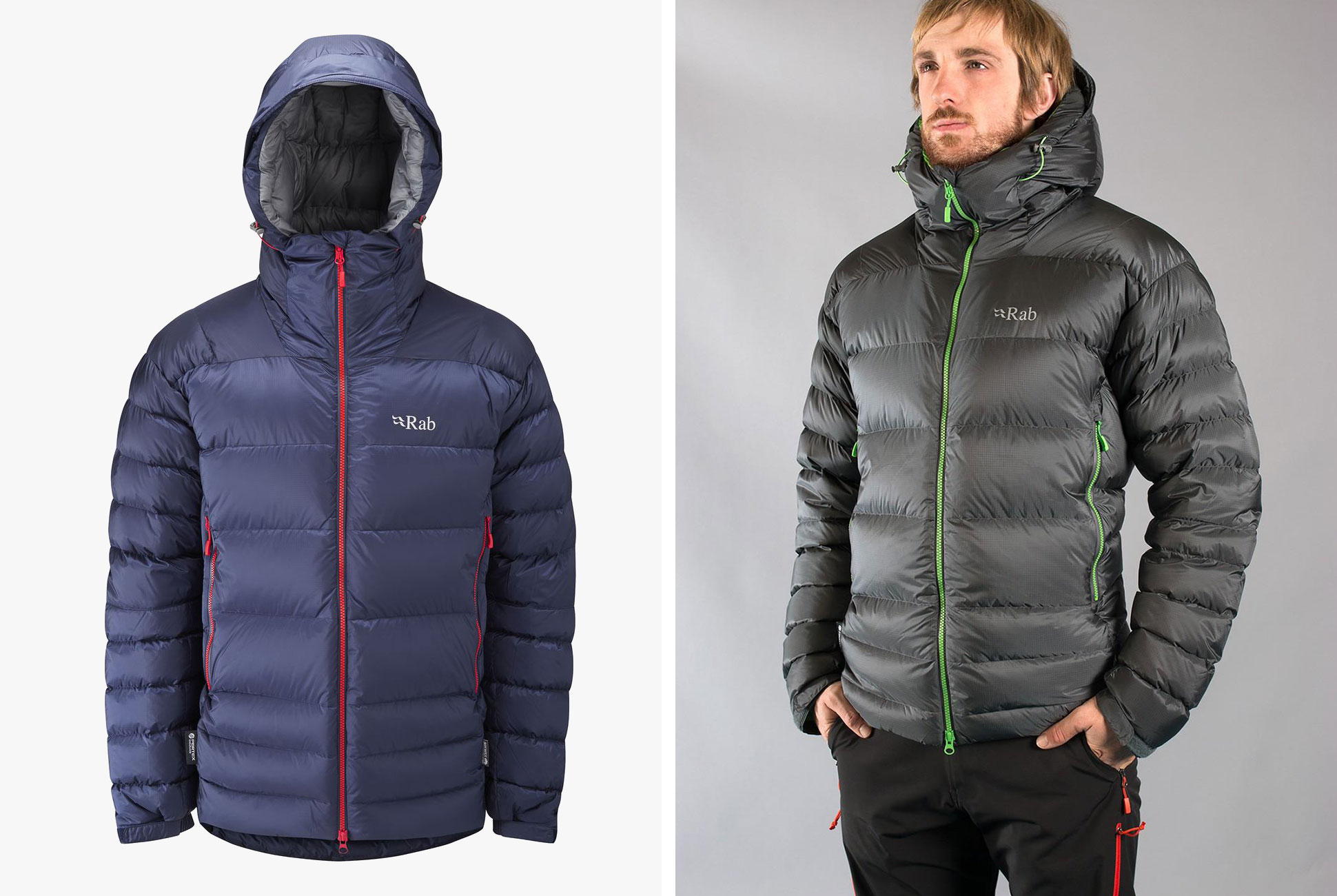 down jackets best for frugal expeditions: rab was started by an english mountaineer in  the 1980s LAIBJLZ