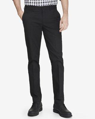 dress pants ... skinny innovator black cotton dress pant RODSVXI