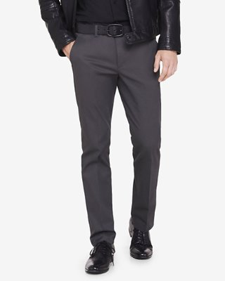 dress pants ... skinny innovator gray cotton dress pant DSFCHRM