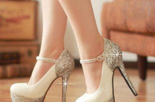 dresswe.com supplies new sexy elegant super high heel platform prom shoes  with sequins prom DKFLGPQ