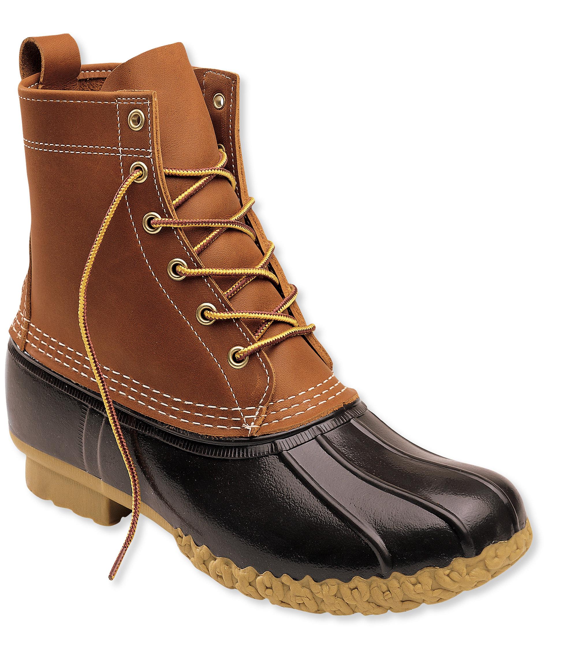 duck boots menu0027s l.l.bean boots, 8 ZXODMAC