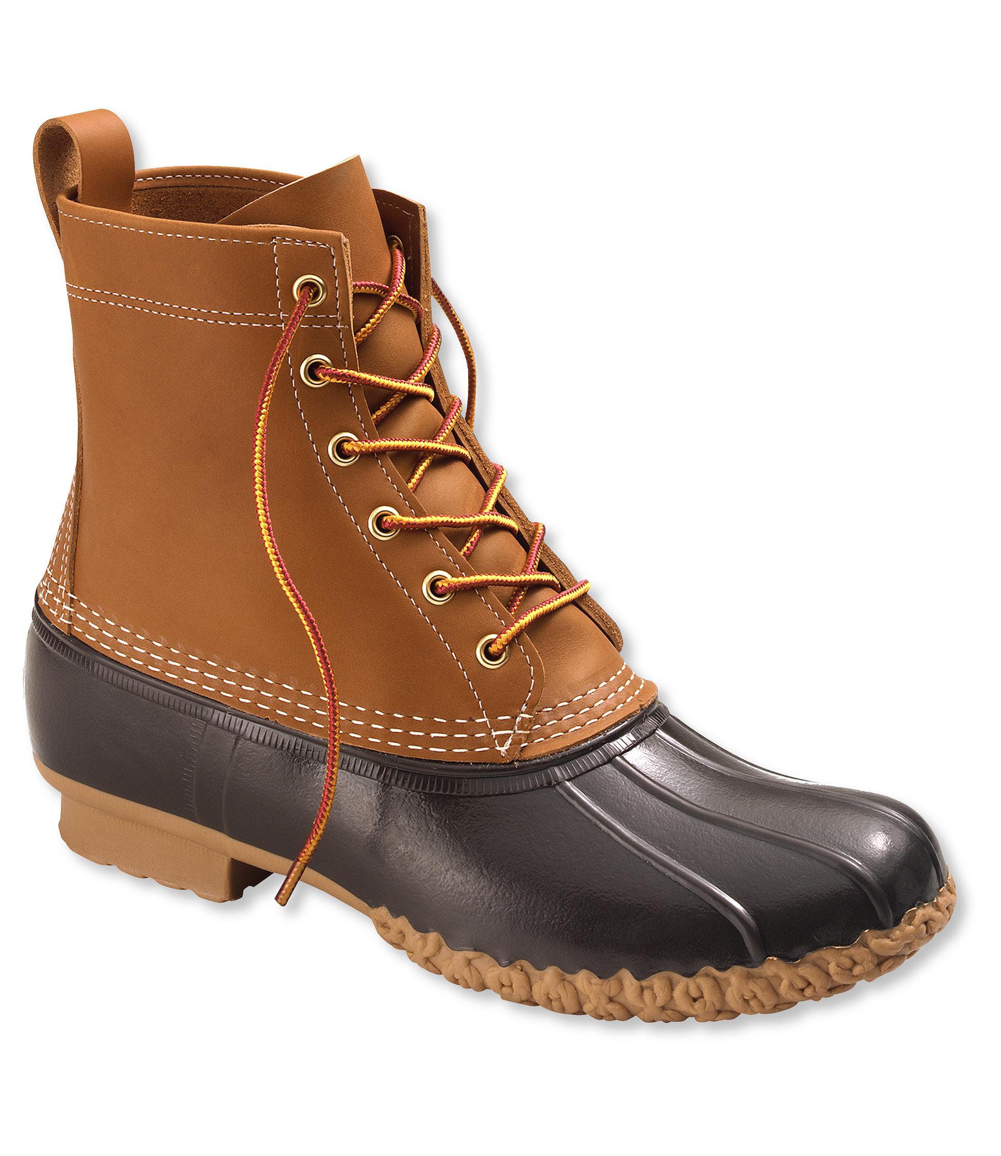 duck boots womenu0027s l.l.bean boots, 8 KMRENDP