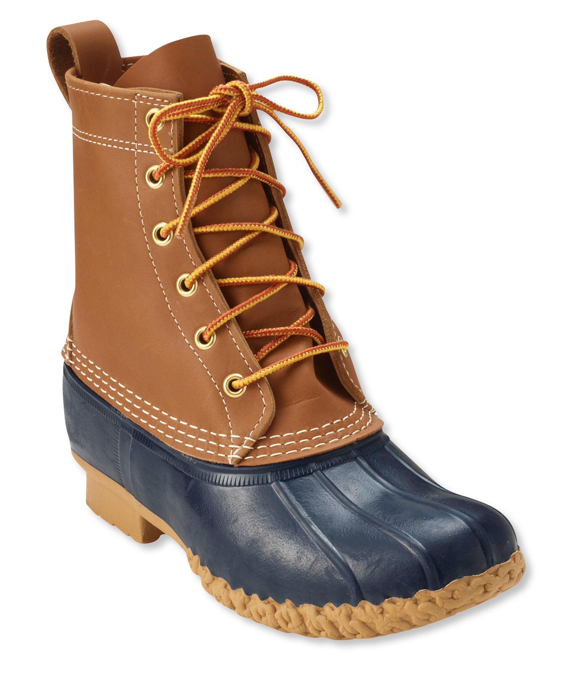 duck boots womenu0027s l.l.bean boots, 8u201d PDHKDLA