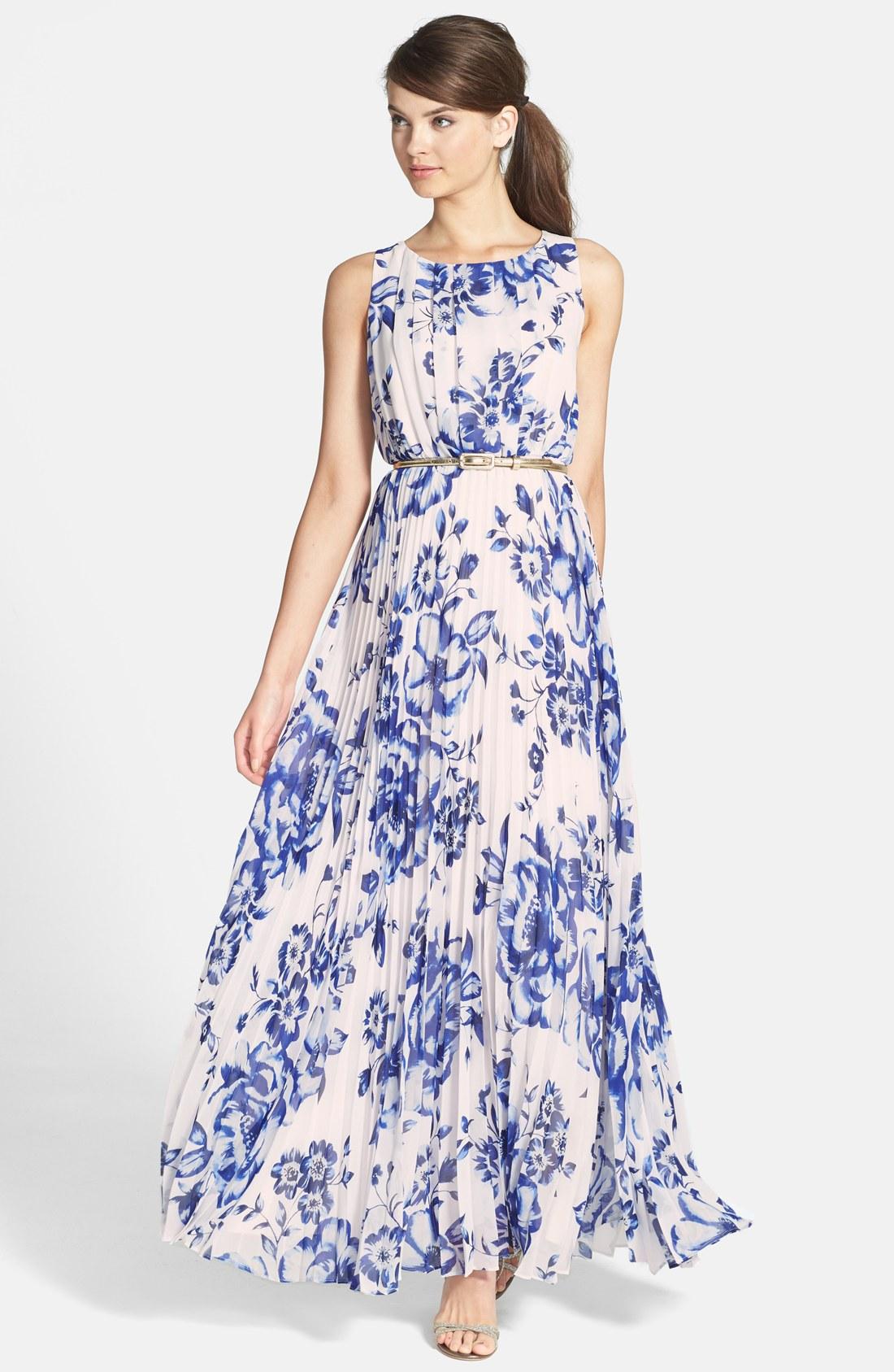 eliza j chiffon maxi dress (regular u0026 petite)   nordstrom MMQIJNT