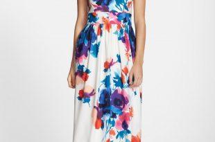 eliza j floral print halter maxi dress | nordstrom EMWTYZK
