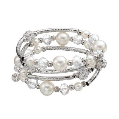 fashion jewelry bead coil bracelet FOVEEZS
