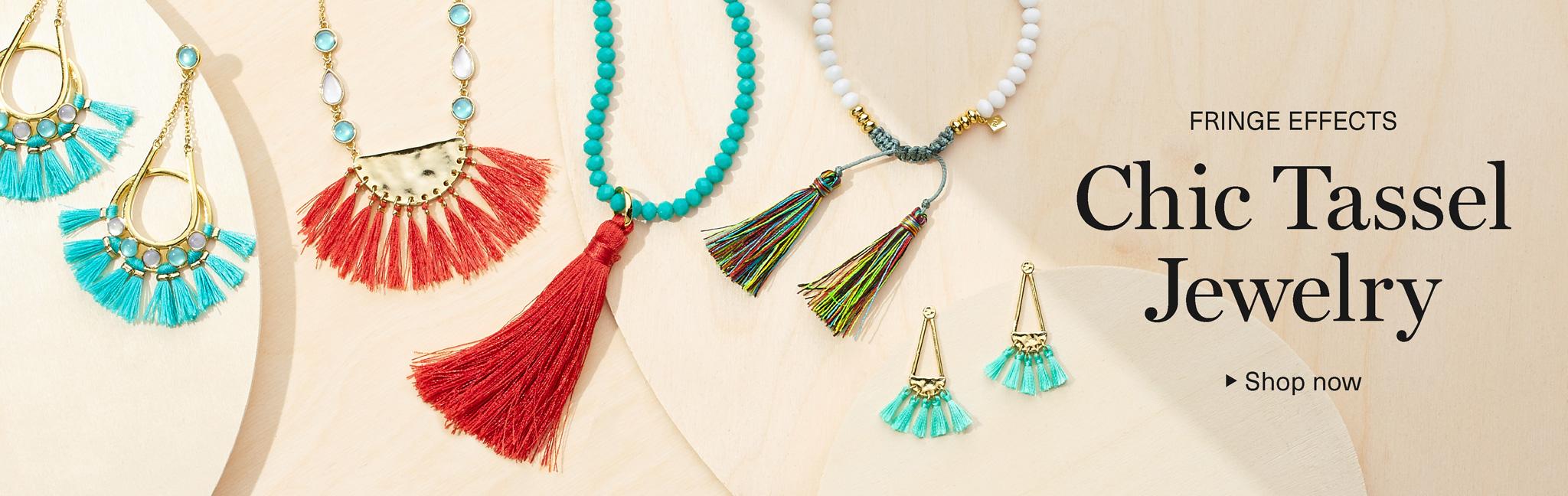 fashion jewelry. chic tassel jewelry YBFIMUD