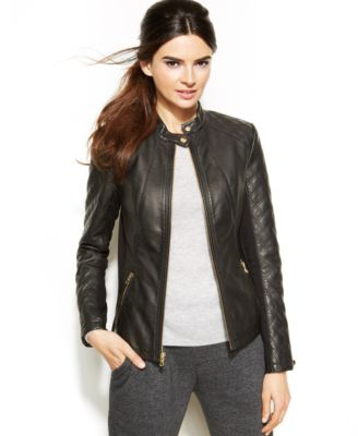 faux leather jacket inc international concepts quilted faux-leather moto jacket MPLHEVA