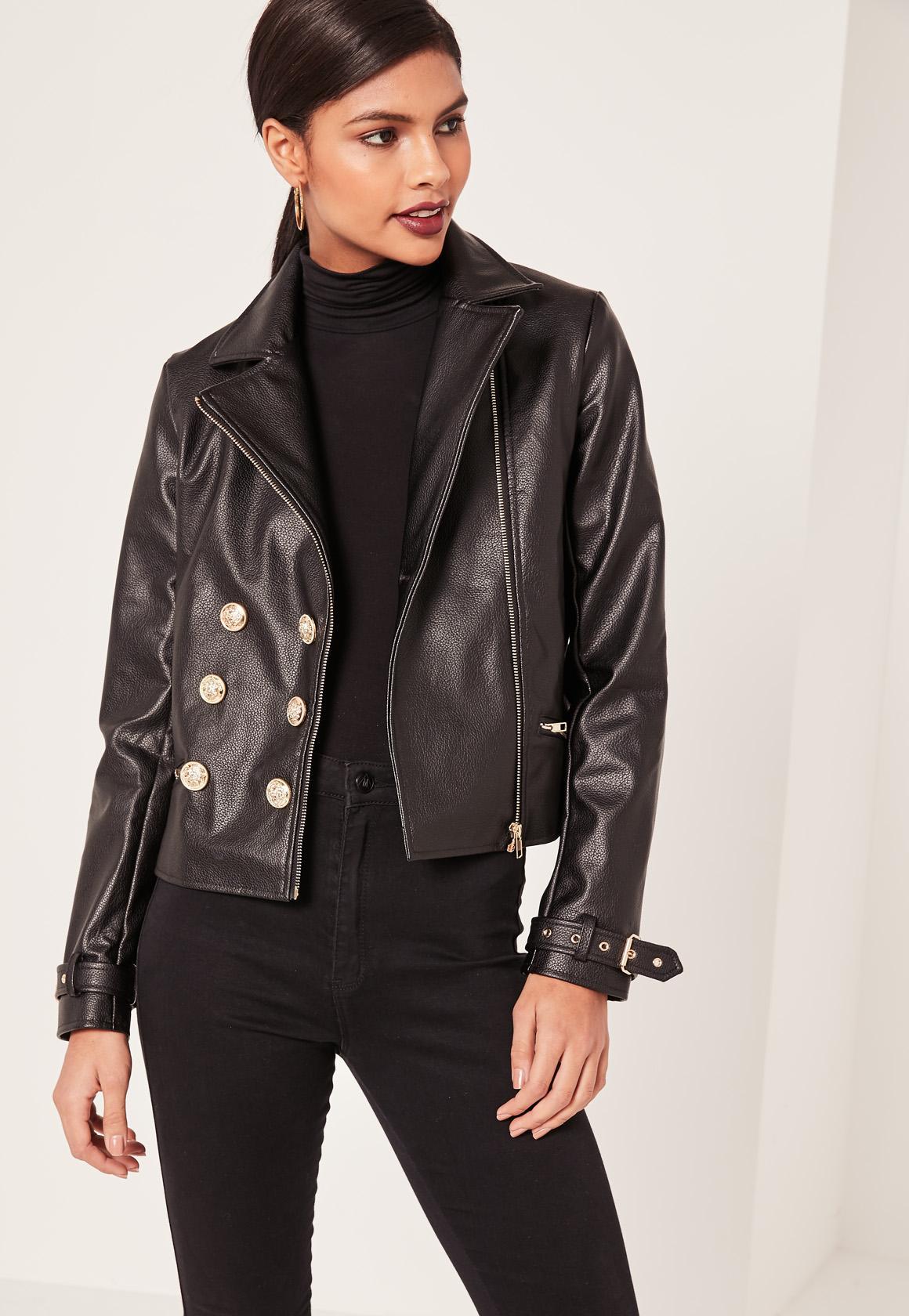 faux leather jacket petite black faux leather military jacket petite black faux leather  military jacket HAZTYPF