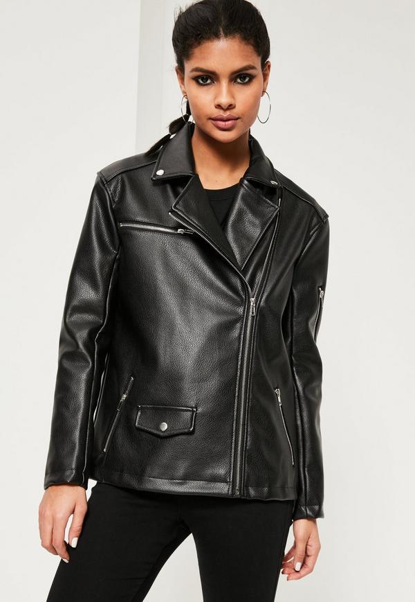 faux leather jacket previous next HXNFQXC