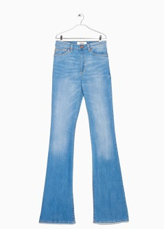 flared flare jeans | mango PMDNBZJ