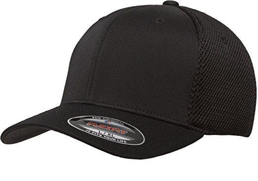 flexfit hats premium original blank flexfit ultrafibre mesh fitted hat cap flex fit 6533  small / JJHRNPG