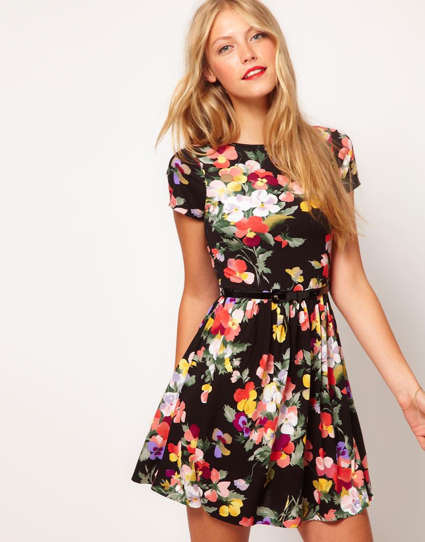floral print dress gallery JCOMYAJ