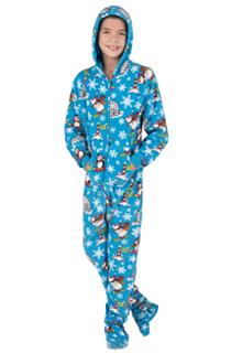 footed pajamas kids NMTOEJD