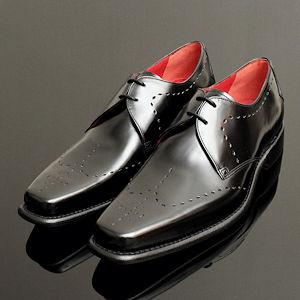formal black polished jeffery west shoes for men QNYPRJF