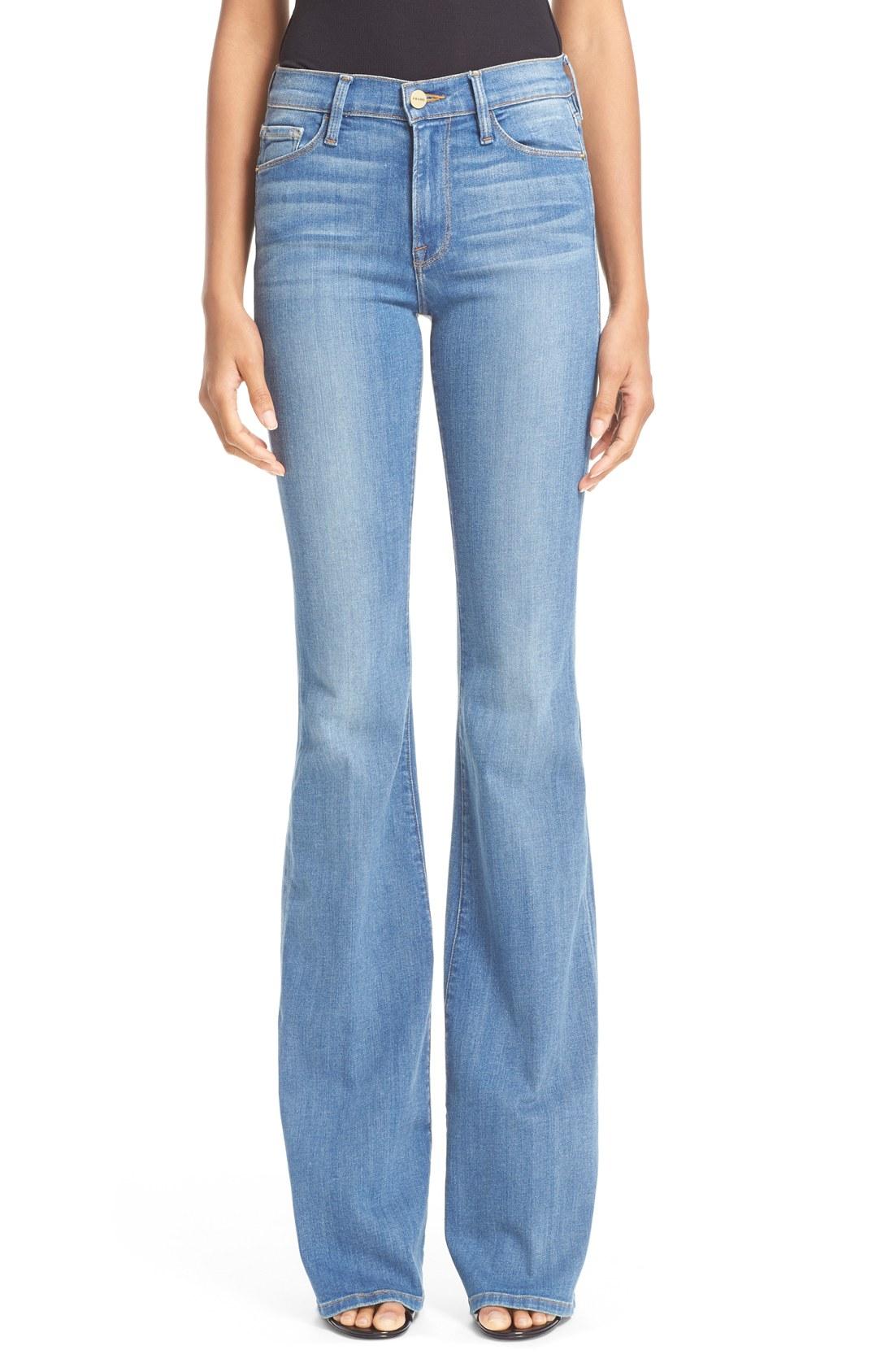 frame forever karlie flare jeans (linden) | nordstrom TJOQHMF