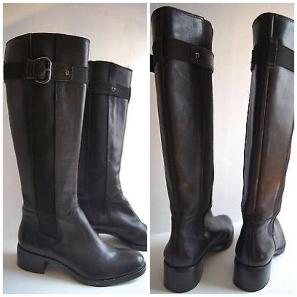 franco sarto boots franco sarto l-june black riding boots ECDWYUX