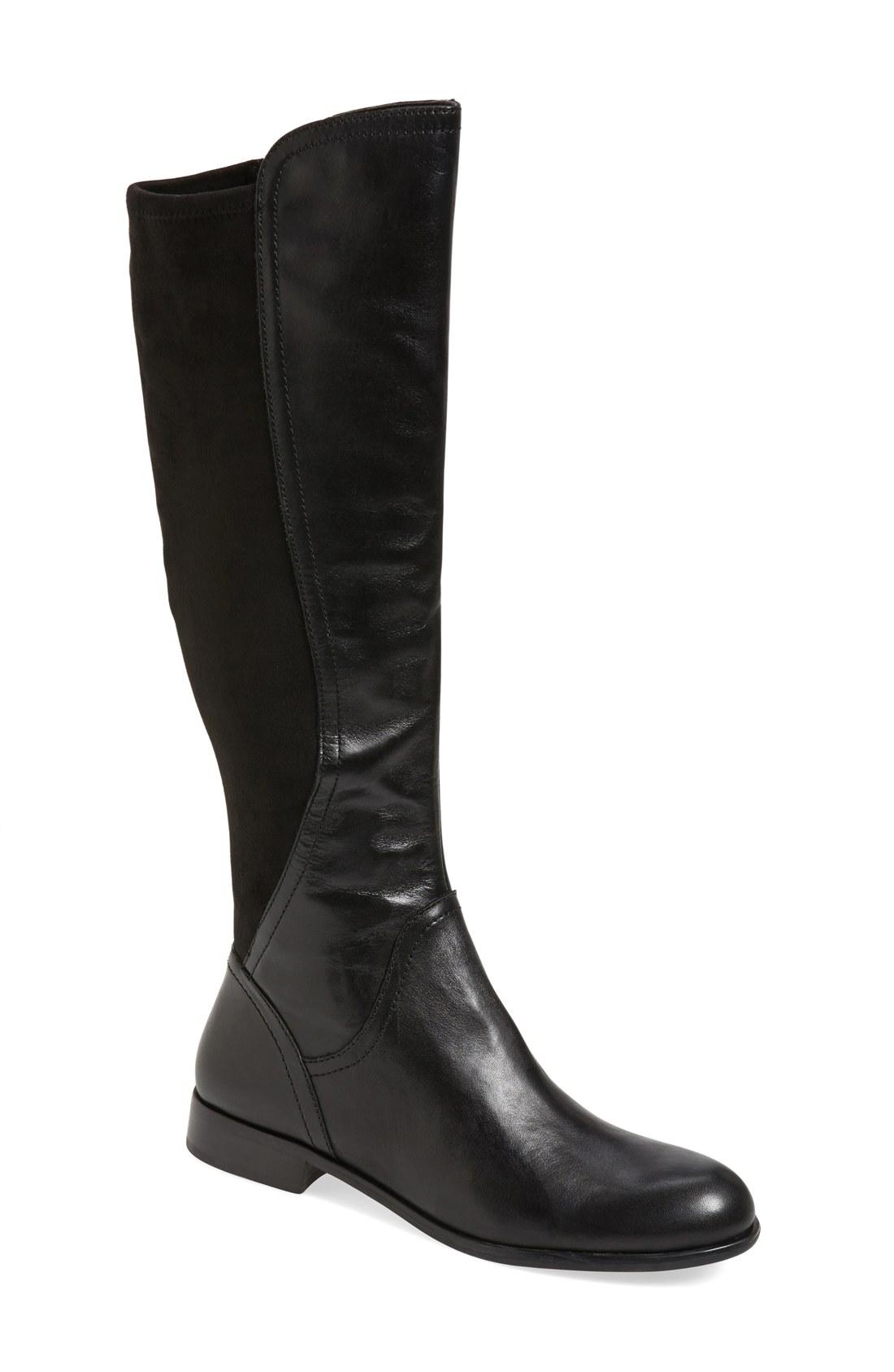 franco sarto boots franco sarto u0027maleniu0027 stretch riding boot (women) | nordstrom WWPVKHV