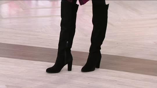 franco sarto boots on-air presentation KFKKFBS