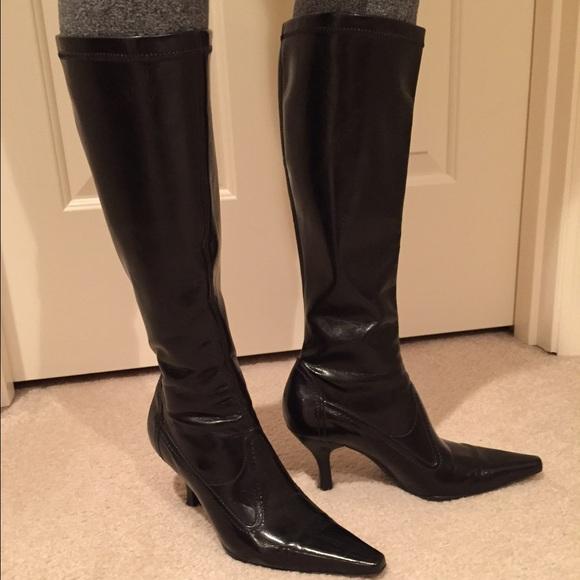 franco sarto shoes - black franco sarto boots NVKWXYI