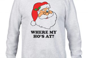 funny christmas jumpers where-my-hos-at-sweater-funny-santa-claus- FVXSKVZ