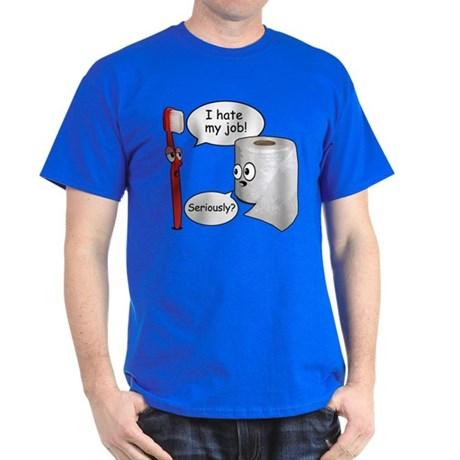 funny t shirts funny sayings - i hate my job t-shirt BFMBUNQ