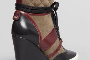 gallery. previously sold at: bloomingdaleu0027s · womenu0027s wedge sneakers APAWULO