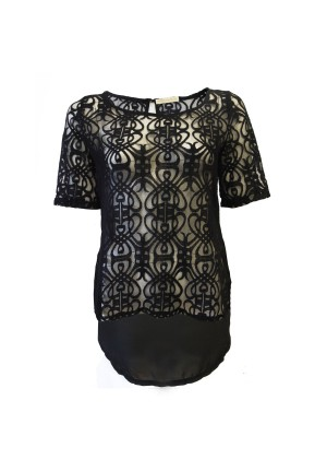 going out tops black lace top black lace top NGEDOBX