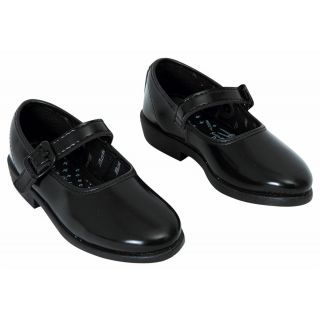 gold star school shoes black for girls BZDEVFE