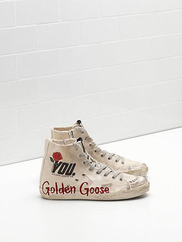 golden goose sneakers francy NWKZDAK