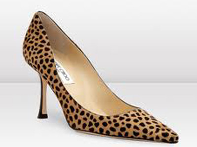 great news about wearing leopard print shoes at the wall street office -  business MDGILQV
