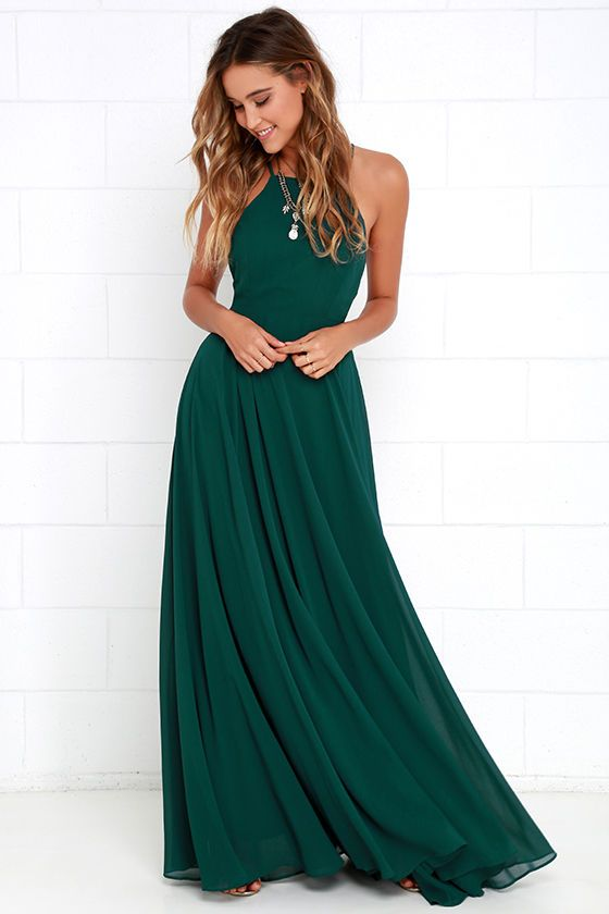 Fashion for every woman – green dresses