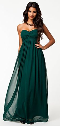 green dresses nly - dreamy dress emerald - fall wedding OJAYZIM