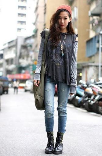 grunge fashion grunge style SWHTMFW