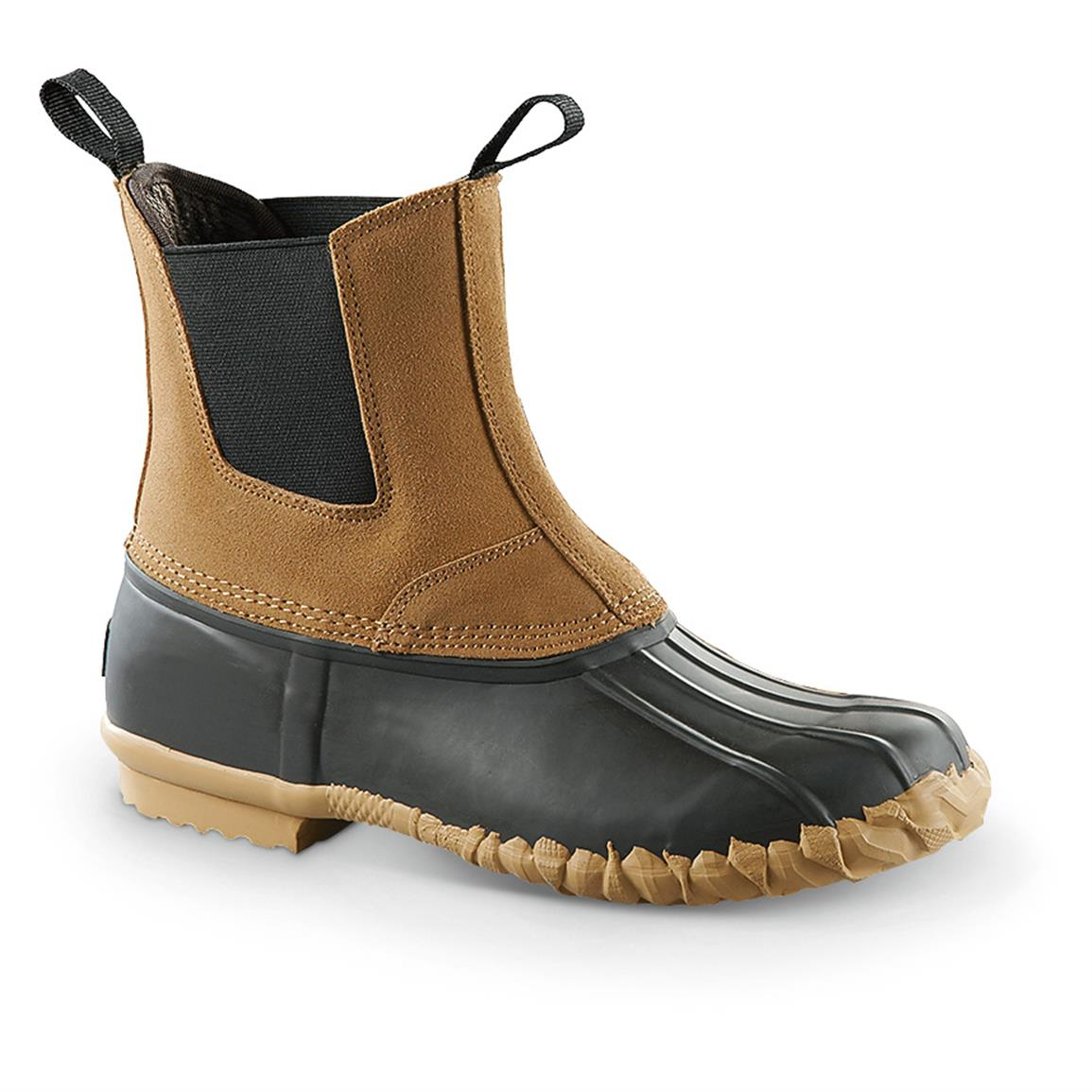 guide gear pull-on insulated duck boots GQGKGMX