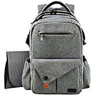 haptim multi-function large baby diaper bag backpack. KXZBIYU