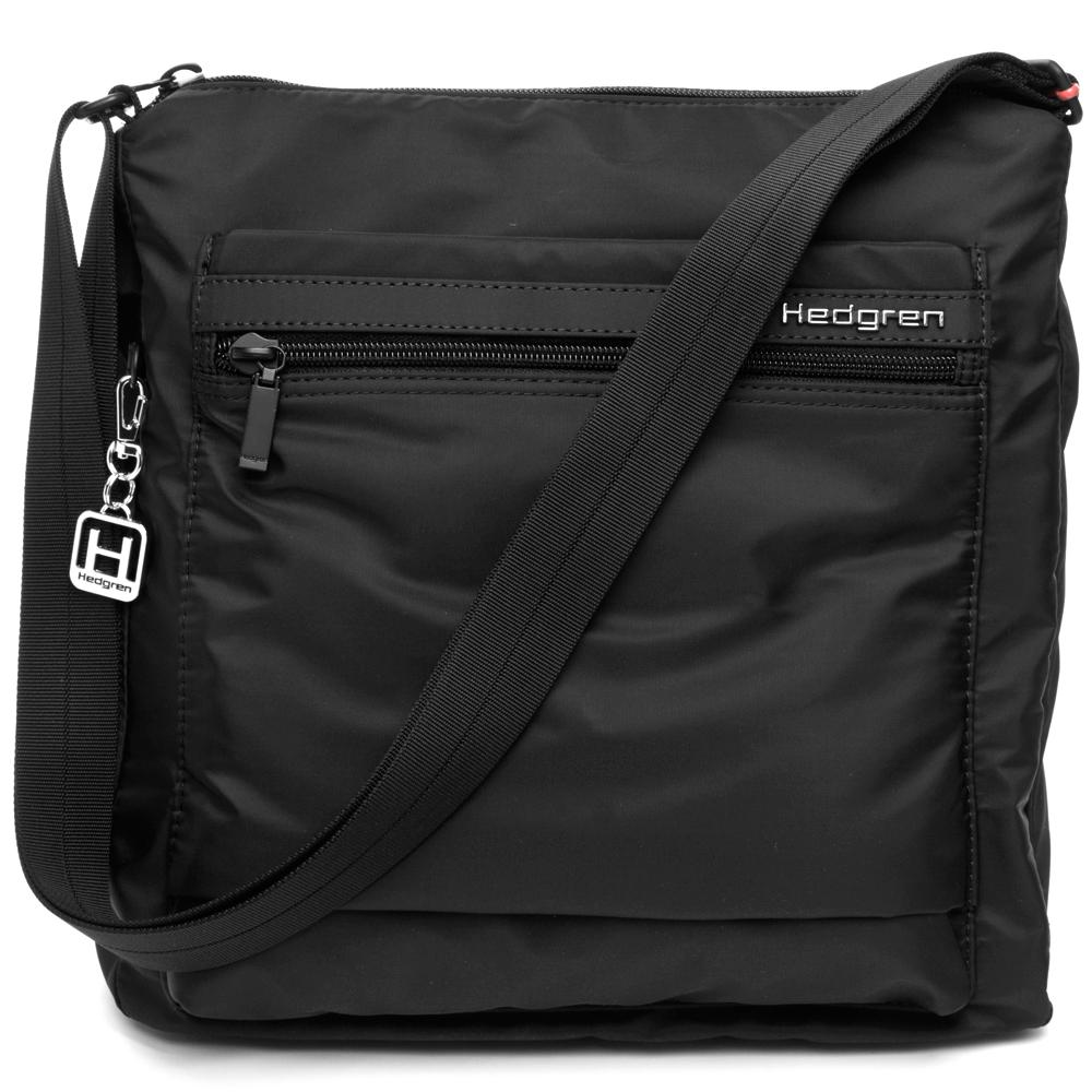 hedgren bags hedgren - inner city fanzine black shoulder bag | peteru0027s of kensington TXONAEC
