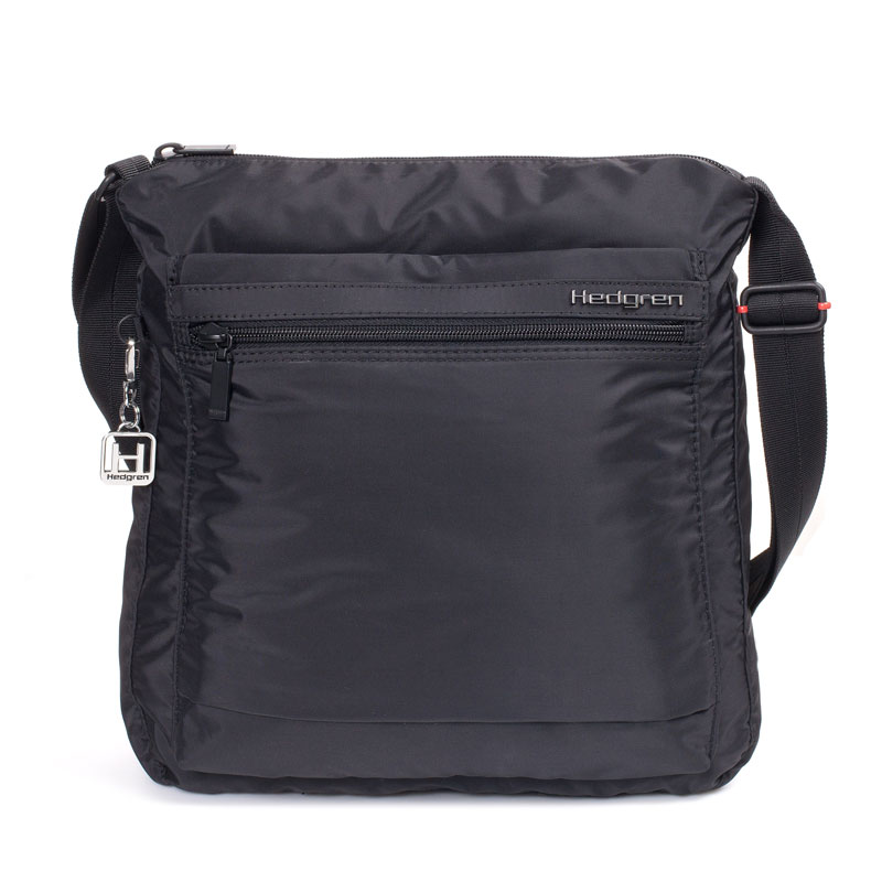 hedgren bags hedgren - inner city ic123 fanzine rfid blocking shoulder bag - black SNJQUKY