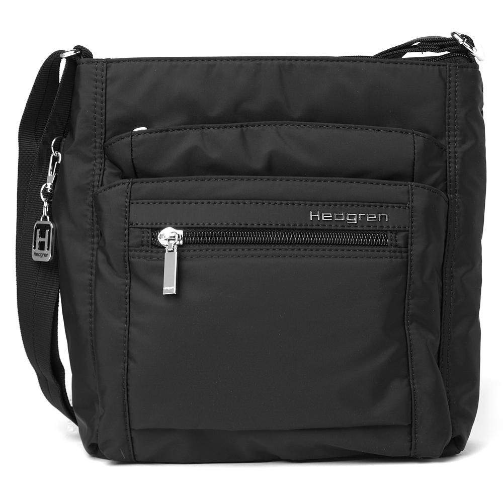 hedgren bags hedgren - inner city orva black shoulder bag CTXOQOG