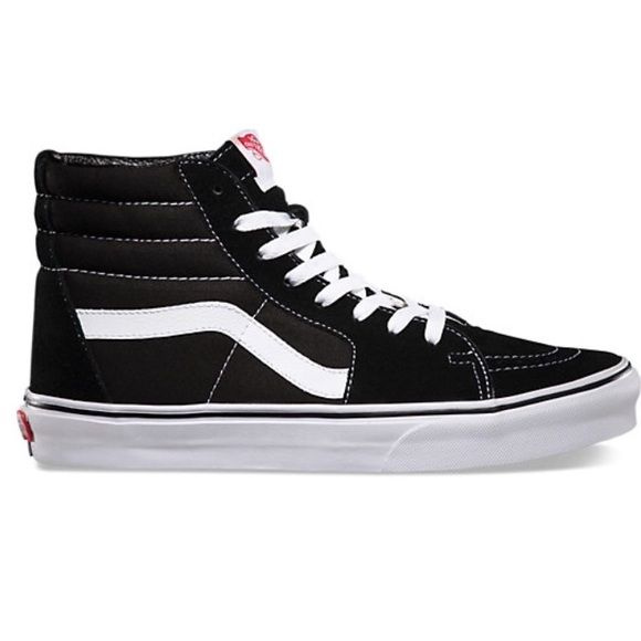 high top vans vans black high top skate slim BQNBZKA