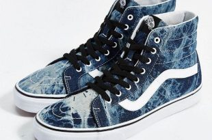 high top vans vans sk8 high-top reissue acid wash menu0027s sneaker $70 by vans at FANHLJR