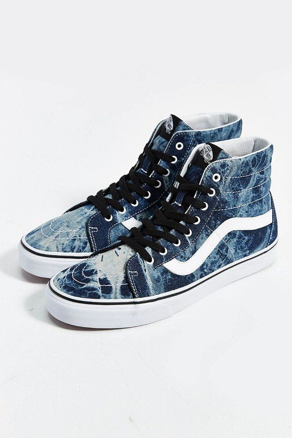 Make a fashion statement with high top vans