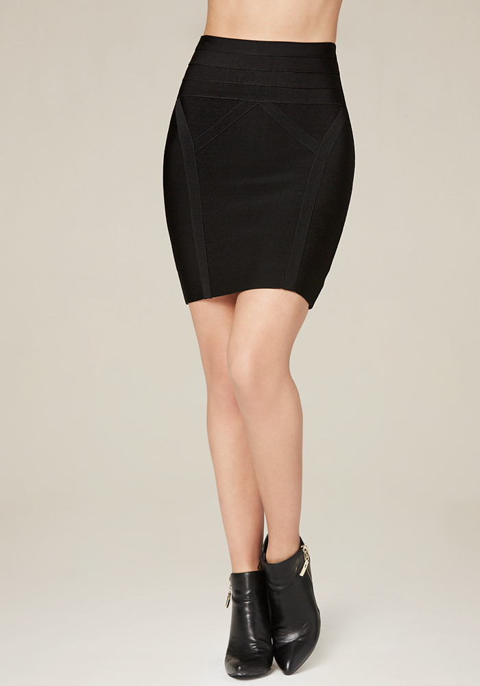 high waisted skirts bebe high waist bodycon skirt ECEVFGO