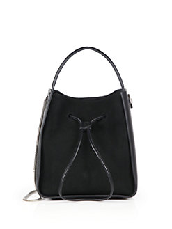 hobo bags 3.1 phillip lim - soleil small suede u0026 leather drawstring bucket bag TUYAITG