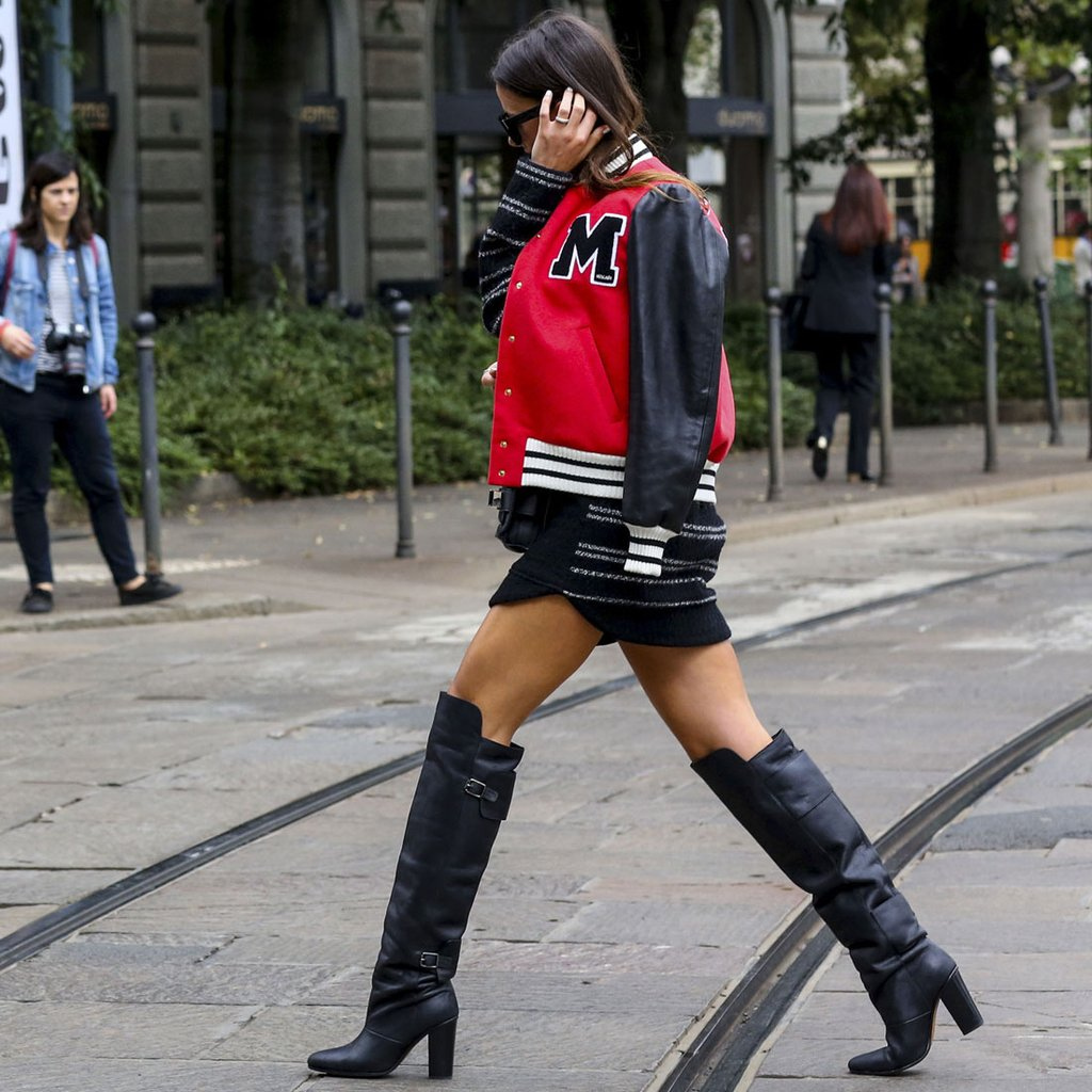 how to wear over-the-knee boots | popsugar fashion SKGJFPC