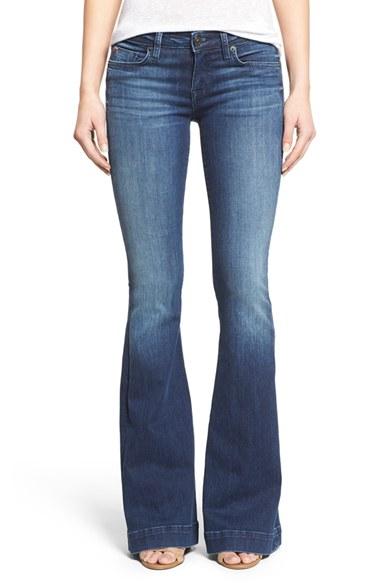 hudson jeans u0027ferrisu0027 flare jeans (canal) | nordstrom HOIPKGV