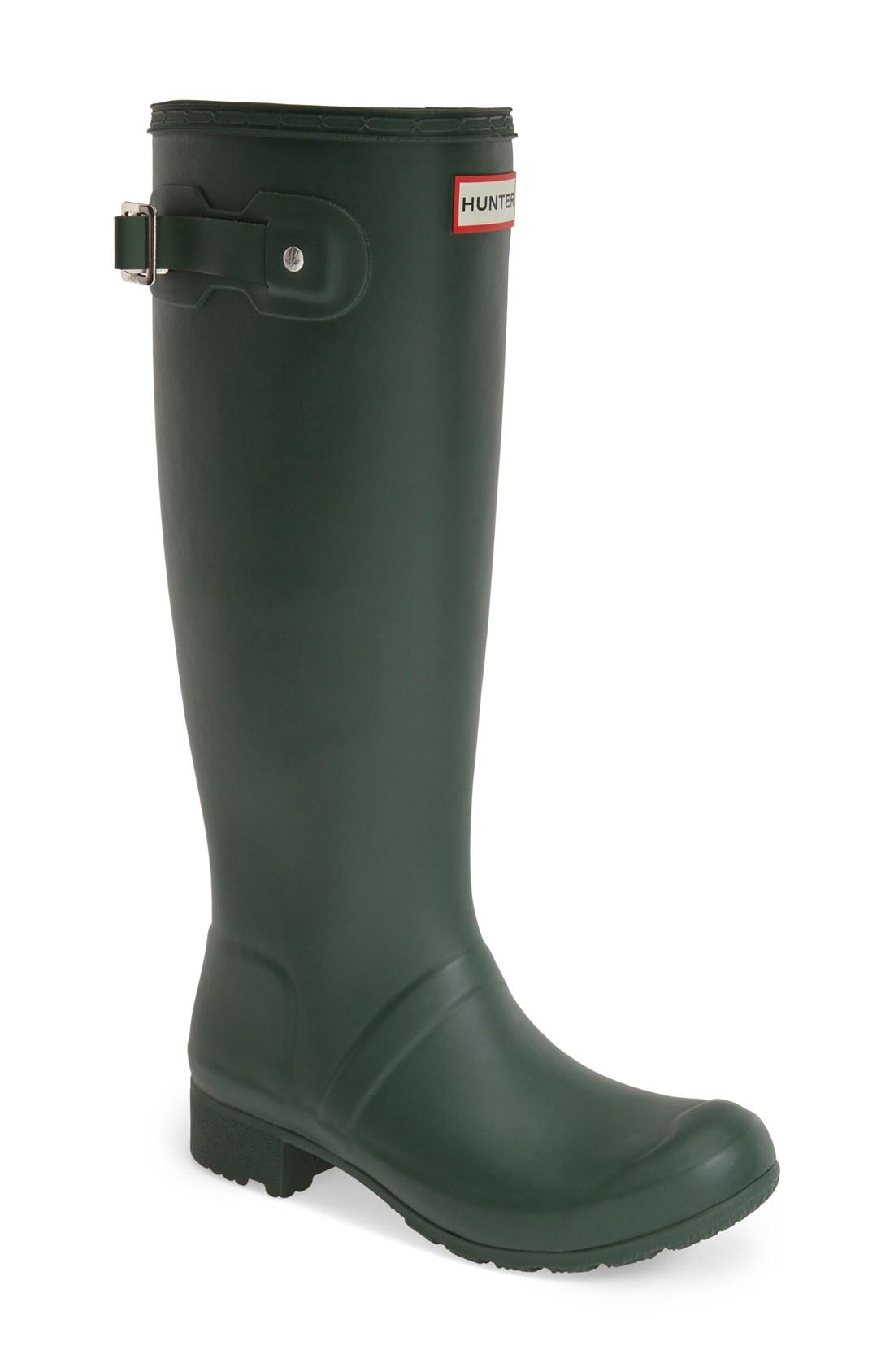 hunter u0027touru0027 packable rain boot (women) | nordstrom PQCDHOT