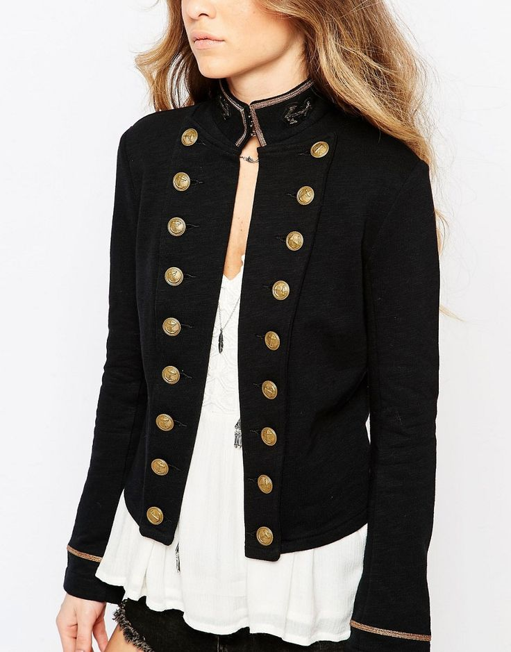 Military jacket wearing tips