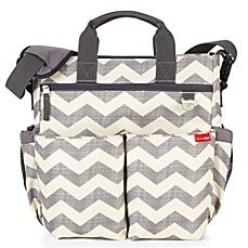 image of skip*hop® duo signature diaper bag in chevron KBHJFLC