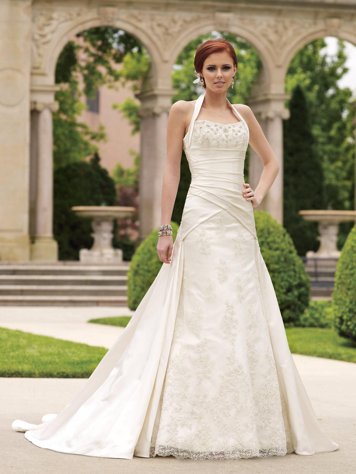 ivory wedding dresses silhouette ivory wedding dress ZKPECSQ